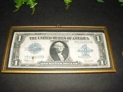 1923 Series - Us Silver Certificate - Paper Money Dollar - Large Size Banknote