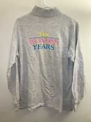 Rare Wonder Years Tv Show Cast And Crew Turtleneck Large
