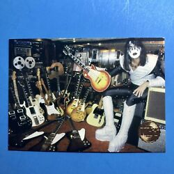 1997 Kiss Card 1978 Ace Frehley Guitar Collection Vintage Kiss Gold Foil