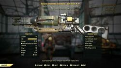 Fallout 76 Xbox One Furious Explosive Laser Rifle Fe Legacy