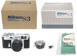Negotiated Nikon S3 2000 Commemorative Model Set One Owner With Unre Filled-in