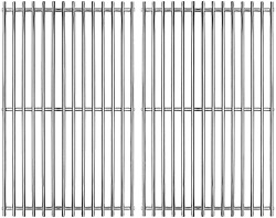 17 Sus 304 Stainless Steel Cooking Grates Replacement For Charbroil