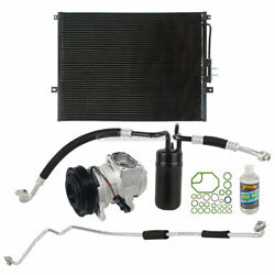 For Jeep Grand Cherokee V8 99-01 A/c Kit W/ Ac Compressor Condenser And Drier Dac