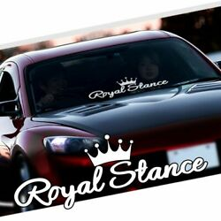 Royal Stance Decal