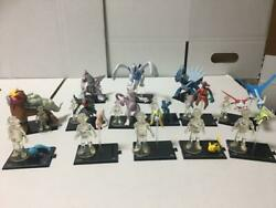 Pokandeacutemon Figure Theatrical Version Complete Collection 14 Types Of Full Comps In