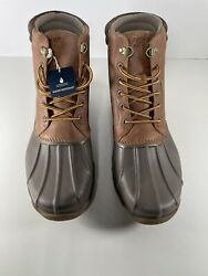 Sperry Top Sider Mens Avenue Tan/brown Hunting Boots Size 9
