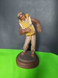 1988 Vintage Michael Garman Fighter Pilot And There I Was - Color Handpainted