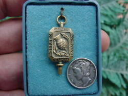 Carnegie Tech Institute Of Technology - Vintage Intramural Sports Medal -thistle