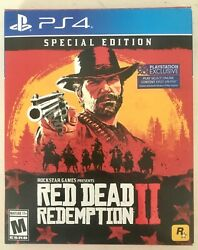 Sony Ps4 Red Dead Redemption 2 Special Edition W/dlc-rockstar Games