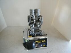Vintage Go Kart Mcculloch Engine Mc 70 For Display Factory Dual Carb Motor