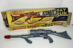 Marx Captain Space Solar Scout Silver Atomic Ray Gun With Box Rare