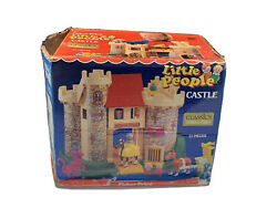 Mintandnbspvintage Fisher Price Little People 993 Play Family Castle Complete + Box