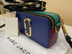 MARC JACOBS Snapshot Small Camera Bag The New Multi 100% NWT Genuine