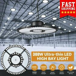 300w Ufo Led High Bay Light Commercial Industrial Factory Warehouse Chain Lamp