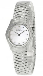 New Ebel Classic Wave 27mm S-steel Mother Of Pearl Womenand039s Watch E9256f21