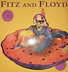 Fitz And Floyd Witch Hazel Chip And Dip Dish 2003 Part Of A Series