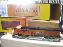 Brand New O Gauge Mth 30-20811-1 Bnsf Es44ac And Caboose Limited Run Proto 3.0