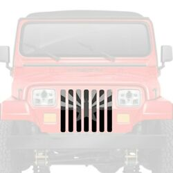 For Jeep Wrangler 87-95 Main Grille 1-pc Tactical Arizona State Flag Style