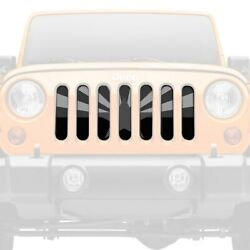 For Jeep Wrangler Jk 18 Main Grille 1-pc Tactical Arizona State Flag Style