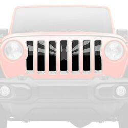 For Jeep Wrangler 18-20 Main Grille 1-pc Tactical Arizona State Flag Style