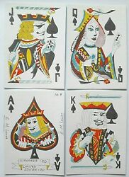 Citicards 90 Elaine Lewis 1990 Hand Made Playing Cards 1st Deck Ltd Ed No 8/100