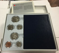 1987 Canada 6 Coin Specimen Set Royal Mint Best Coins Struck From A Pair Of Dies