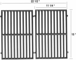 Cast Iron Grill Cooking Grates 15 2-pack For Weber Spirit 500 Genesis Silver A