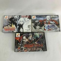 Gba Devil Castle Dracula Work Circle Of The Moon Concerto White Night Dance Dawn