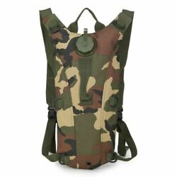 3l Tactical Hydration Backpack Water Bladder Military Bag Pouch Drinking System