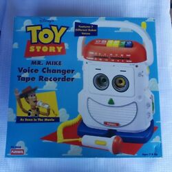 Playskool Toy Story Mr. Mike Voice Changer Tape Recorder 1996 Ps468 With Box