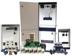 Hydroponic Grow System Complete Indoor 14 Plant Combo Kit Lifetime Warranty