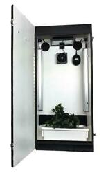 Hydroponic Grow System Complete Indoor 2 Plant Led Box Kit Lifetime Warranty
