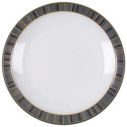 Denby-langley Jet Stripes Bread And Butter Plate 3788706