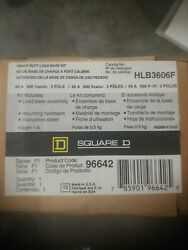 New Square D Hlb3606f Series F01 Heavy Duty Load Base Free Shipping