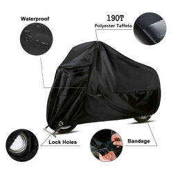 4xl Washable Motorcycle Cover Waterproof Rain Snow Dust Uv Protector Us Ship