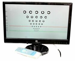 18 Inches Led Digital Visual Acuity Chart Free Shipping