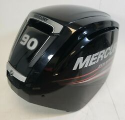 8m0087994 Mercury 2006 And Up Top Engine Cover Cowling 65 75 80 90 100 115 Hp 4s