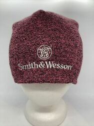 Smith And Wesson Pink Beanie Hat Cap Toboggan