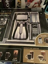 Ninja Cf097 10-cup Coffee Bar System With Thermal Carafe - Black/silver