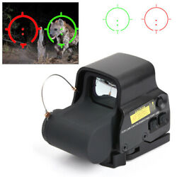 Red Green Dot Reflex Sight Scope Tactical Holographic Optic 20mm Rail 558 Series