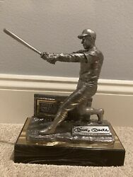 Rare Mickey Mantle Signed Pewter Collectible By Michael Ricker
