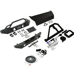 Bumper Face Bars Set Of 9 Front And Rear For Jeep Wrangler Jk 2018