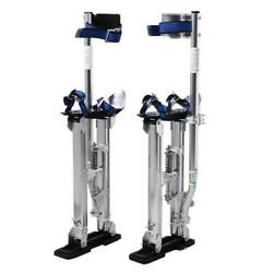 New Drywall Stilts 15-23 Inch For Walking Taping Painter Aluminum Tool Silver