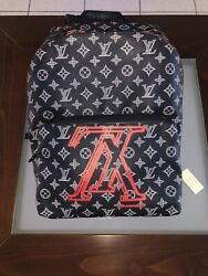 Louis Vuitton Apollo Upside Down Monogram Backpack - Red - Sold Out - Mm973