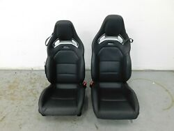 2016 15 16 17 18 Mercedes Amg Gts Gt S C190 Leather Seat Set 4536