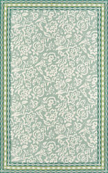 Madcap Cottage Under A Loggia 3and0399 X 5and0399 Area Rugs In Green Underund-2grn3959