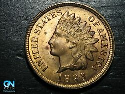 1893 Indian Head Cent Penny -- Make Us An Offer K5047