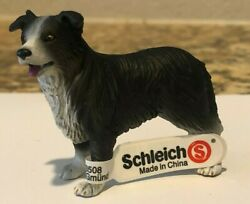 Schleich BORDER COLLIE Dog Animal Figure Retired 16330 Rare BRAND NEW WITH TAG