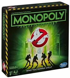 Monopoly Ghostbusters Edition Hasbro Board Game Brand New