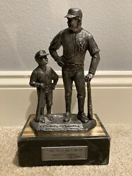 Signed Mickey Mantle The Legend Lives Michael Ricker Pewter Collectible